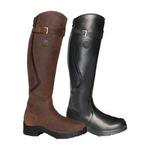 Mountain Horse Leather Aurora Zip Paddock Boot